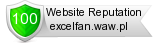 Rating for excelfan.waw.pl